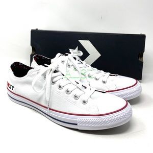 Converse Ctas I ❤️ NY Canvas Low Top White Red Men